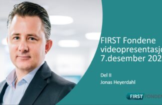 Jonas Heyerdahl FIRST Fondene desember 2020