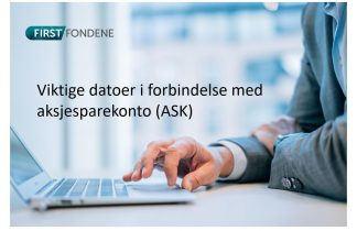 First Fondene Aksjesparekonto Ask