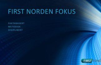 FIRST Norden Fokus 2020 mars