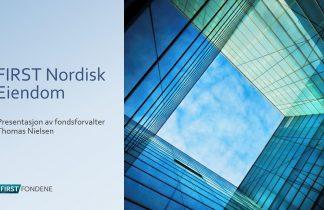 First Nordisk Eiendom Mai 2020 Thomas Nielsen
