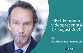 Harald Magnus Andreassen 2020 August First Fondene
