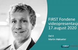 Martin Molsater First Fondene 2020 August