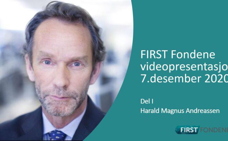 Bilde: Videopresentasjon 7.desember 2020 Del I v/Harald Magnus Andreassen