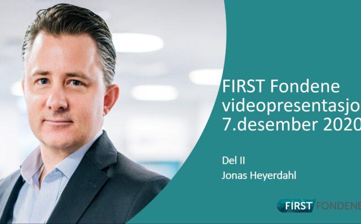 Bilde: Videopresentasjon 7.desember 2020 Del II v/Jonas Heyerdahl