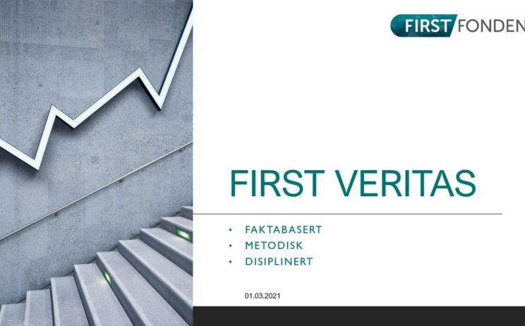 Bilde: FIRST Veritas - videopresentasjon