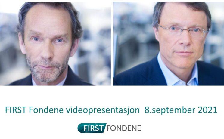 Bilde: FIRST Fondene seminar m/Harald Magnus Andreassen og Peter Hermanrud 8.september 2021